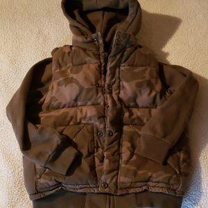 Boys old navy warm coat sz. S